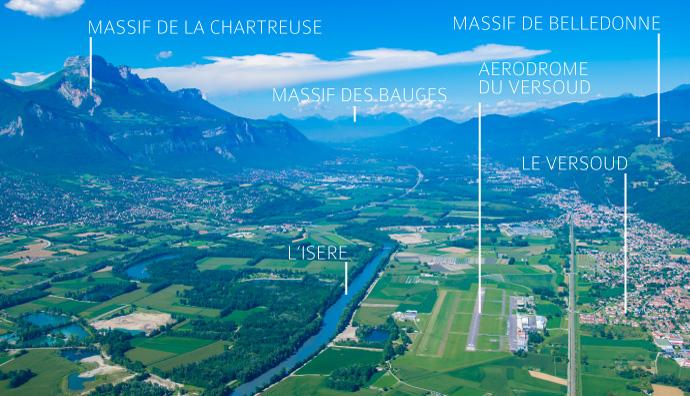 Situation_aerodrome_Le_Versoud_LFLG_vers_Nord_est